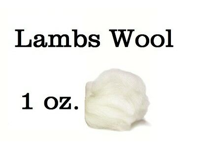 1 Ounce Bag of Soft Lambs Wool for Pointe Shoes