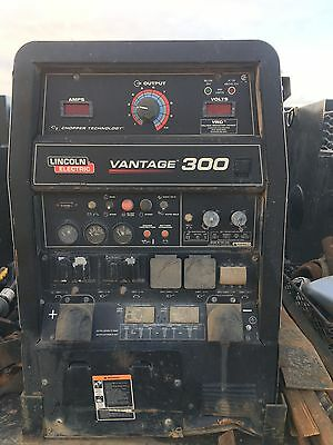 lincoln vantage 300 with kubota engine fair condition welds great.