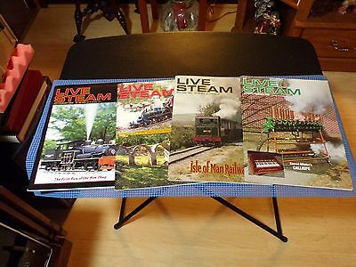 LIVE STEAM MAGAZINE - 2003 to 2004 - 4 ISSUES