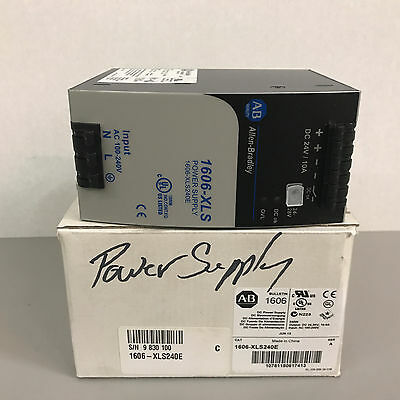 NIB Allen Bradley 1606-XLS240E Ser. A DC Power Supply
