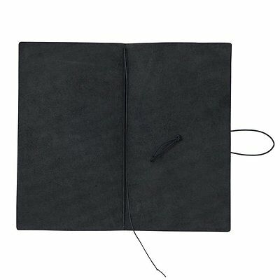 Midori Traveler's Notebook Black Leather