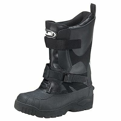 Hjc Standard Snow Boots Snowmobile Boots Size 4 Black 971-004