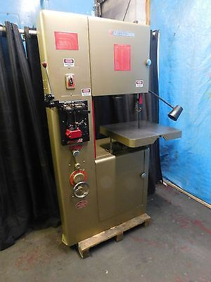 """Bandsaw 20"""" Powermatic Vertical Metal Cutting Bandsaw Mod 87... Excellent !!"""