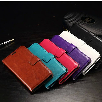 Leather Book Wallet Magnetic Flip Phone Case Cover for Samsung Galaxy S7