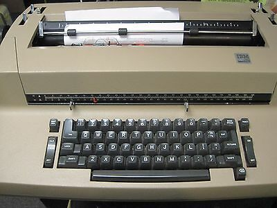 Refurbished IBM Correcting Selectric II Typewriter, 90 Day Warranty