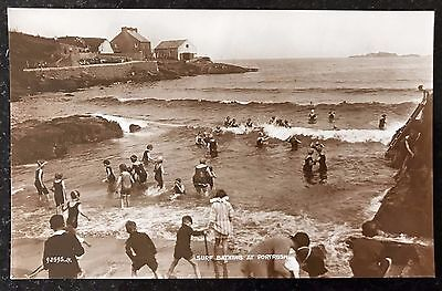 Surf Bathing at Portrush Co Antrim Postcard 1900's Northern Ireland