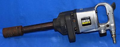 Central Pneumatic 67096 1 inch Drive Industrial Impact Wrench with Wright Socket