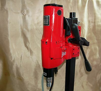 """10"""" Z-1 CORE DRILL 2 SPEED W/ STAND CONCRETE CORING by BLUEROCK ® TOOLS Z110"""""""
