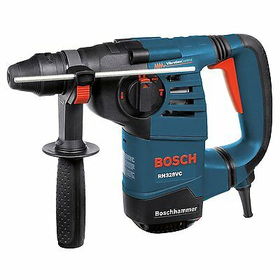 "Bosch RH328VC 1-1/8"" SDS Plus Rotary Hammer Drill + Case Electric Tool NEW"