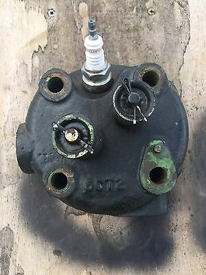Stover Original Cast CT2 Head With Valves Antique Hit And Miss Gas Engine