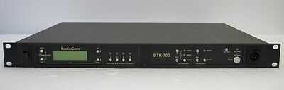 Telex Rts Radiocom Btr-700 Single Channel Wireless Intercom Base Station A2 Band