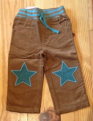 Boys Baby Boden Star Patch Trousers 18-24 Months New