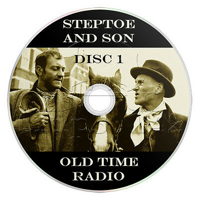 Steptoe and Son (OTR) Old Time Radio (2 x mp3 CD) 56 Episodes