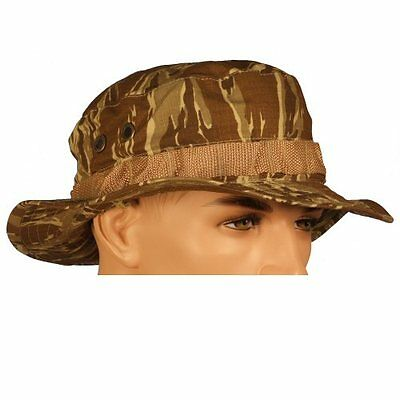 New Bulle Woodland Boonie Hat Fishing Sun Hat Ripstop PolyCotton Fabric