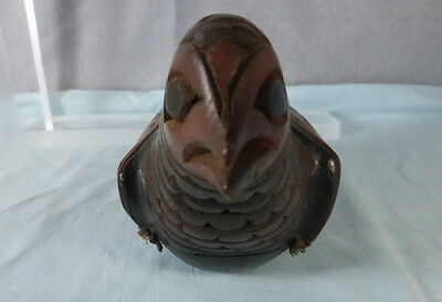 Antique Northwest Coast or Haida Bird Rattle