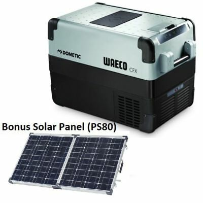 Dometic Waeco Cfx 50W Fridge Or Freezer & Bonus Waeco 80W Solar Panel (Ps80) (Cf