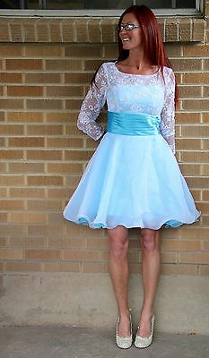 NWT~Adult Frozen Elsa Halloween Dress Costume Cosplay~M~8