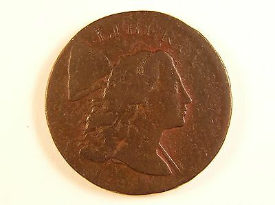 1794 1C Flowing Hair Large Cent Head of 1794