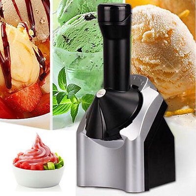 Electric Ice Cream Machine Automatic Fruit Cream Maker for Home DIY Household