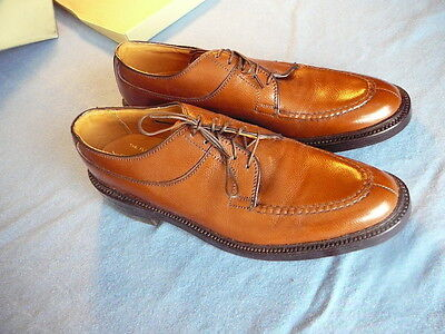 Florsheim Imperial Kenmoor Sz 9 A #327892  Model 4351 Brown Front Leather Shoes