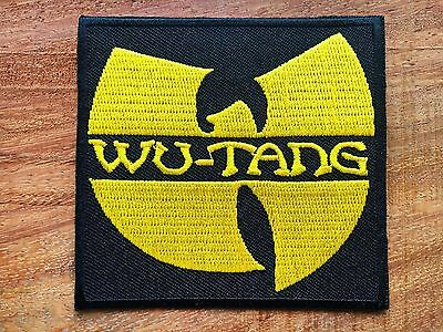 Wu-Tang Clan PATCH Wu-Tang Clan EMBROIDERED Iron on PATCH SALE