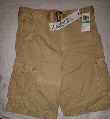 NWT Ring of Fire Cargo Shorts sz 16