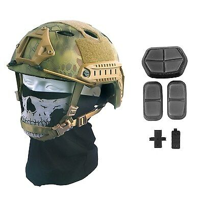 Military Tactical Airsoft  Fast Helmet Paintball Gear Swat Combat Replica New