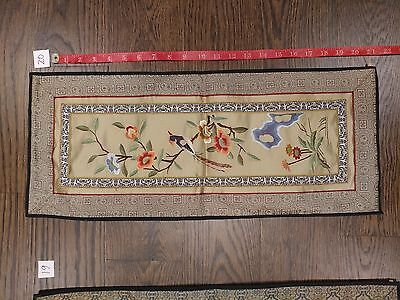 Antique Chinese Silk Embroidery - 19C / Early 20C - Estate Auction