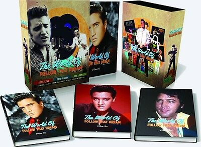 Elvis Presley: The World Of 'Follow That Dream' - 3 Book Set - New & Sealed*****