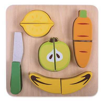 Brand New Tooky Toy Fruit Cutting Play Set Pretend Play Food Role Play Puzzle