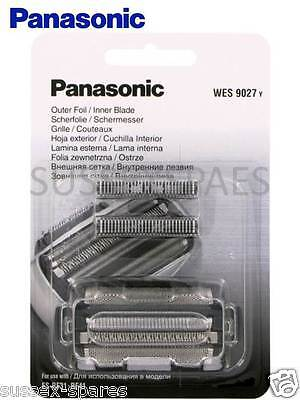 Genuine Panasonic Wes9027 Combi, Es-Rf31, Rf41, Lf71 Lf51 Foil And Cutter Set