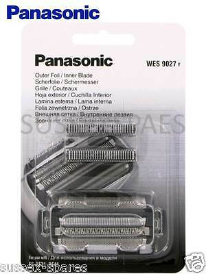 Genuine Panasonic Wes9027 Combi, Es-Rf31, Rf41, Lf71  Foil And Cutter Set, New !
