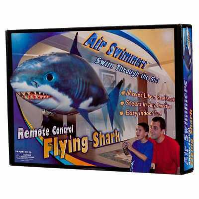 Air Swimmers SHARK Remote Control Flying Kids Toy Helium Float Balloon Fly