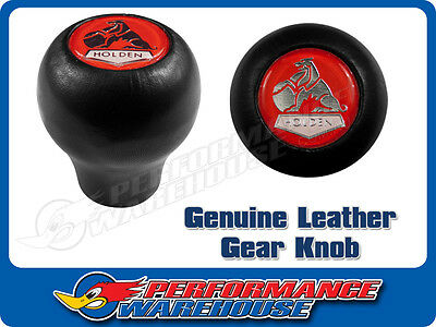Genuine Leather Holden Lion Gear Knob Made In England