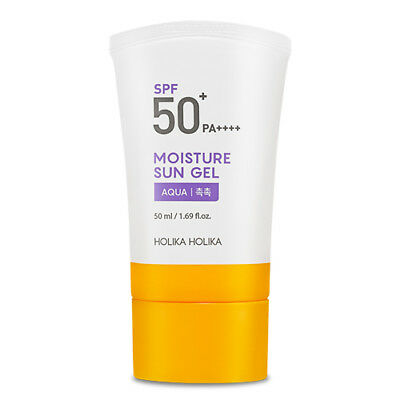 [Holika Holika] Moisture Sun Gel SPF50+ PA++++ Fruits UV Shield Korean Cosmetic