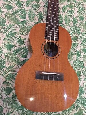 PONO Solid Mahogany DELUXE Tenor.Rosewood fingerboard  Ukulele FREE SHIPPING