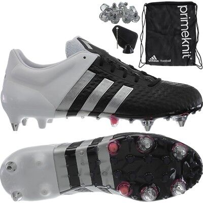 Adidas Ace 15+ Primeknit SG men's professional football-boots black  shoe-bag