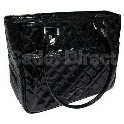 Double Sided Cosmetic, Makeup and Accessories Bag Black Weekend Travel Purse