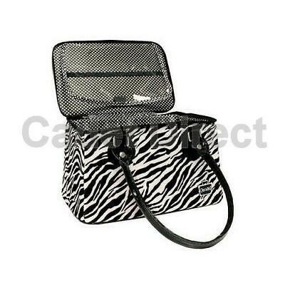Makeup Bag with Brush Compartment   Caboodles Heartthrob Tote