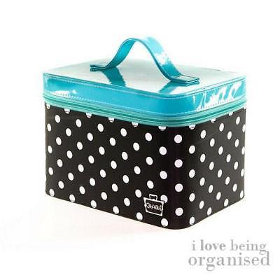 Polka Dot Nail Polish Storage Vanity Case | Gilded Pleasure Nail Organiser Caboo