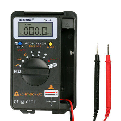 New Mini VC921 3/4 DMM AD/DC Multimeter Pocket Digital Multimeter Frequency