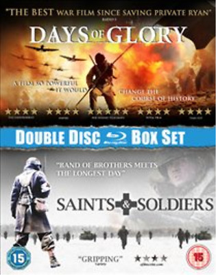 Corbin Allred, Alexander Po...-Saints and Soldiers/Days of Glory  Blu-ray NEUF