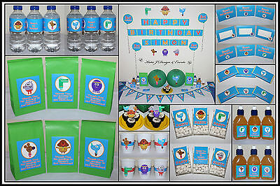 ** HEY DUGGEE PERSONALISED Birthday Party Decorations Supplies Scene Setter **