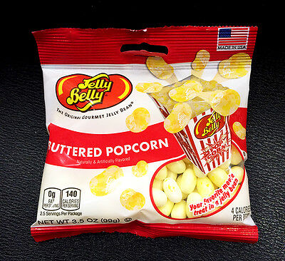 Jelly Belly Buttered Popcorn Jelly Beans 99g