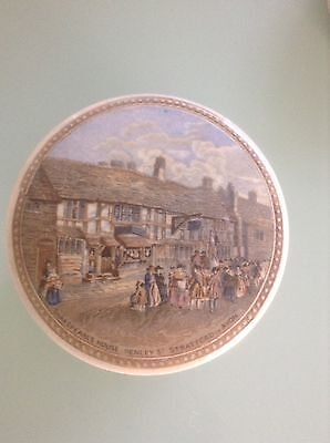 Victorian Paste Pot Shakespeare's Stratford On Avon