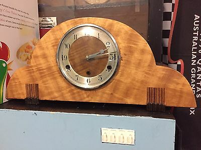 Old Mantle Clock Westminster Whittington Duel  Chime