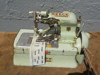 Industrial Sewing Machine Reece Model Button hole