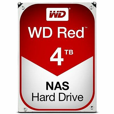 Western Digital Red 4TB 3.5 Inch Internal Drive 6 Gb/s SATA3 64 MB Cache