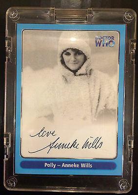Strictly ink S1 Dr WHO A6 Hand Signed Anneke Wills card Mint