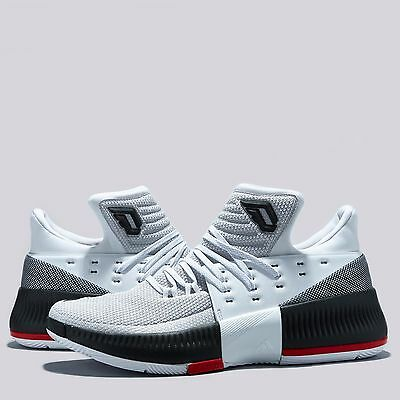 Adults UK 7 adidas Crazy Time Lillard 3 Basketball Shoe - Home B7